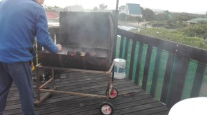 It wouldn't be South Africa without a braai